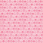 Hambly Studios - Screen Prints - 12 x 12 Paper - Sweet Cupcakes - Pink on Light Pink