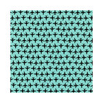 Hambly Studios - Screen Prints - 12 x 12 Paper - Up Up and Away - Black on Lagoon Blue