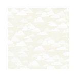 Hambly Studios - Screen Prints - 12 x 12 Paper - Rain Clouds - White on White Gold