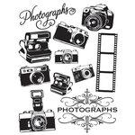 Hambly Studios - Screen Prints - Hand Silk Screened Rub Ons - Photographs - Black