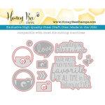 Honey Bee Stamps - Honey Cuts - Steel Craft Dies - Oh Snap