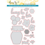 Honey Bee Stamps - Honey Cuts - Steel Craft Dies - Sweet As Honey