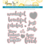 Honey Bee Stamps - Honey Cuts - Steel Craft Dies - Beautiful Life