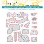 Honey Bee Stamps - Honey Cuts - Steel Craft Dies - Special Delivery