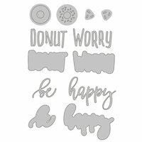Honey Bee Stamps - Honey Cuts - Steel Craft Dies - Donut Worry