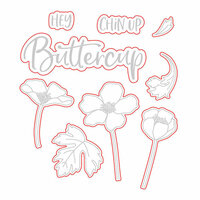 Honey Bee Stamps - Honey Cuts - Steel Craft Dies - Chin Up Buttercup