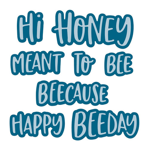 Honey Bee Stamps - Honey Cuts - Steel Craft Dies - Hi Honey