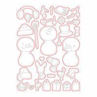 Honey Bee Stamps - Honey Cuts - Steel Craft Dies - Snow Buddies