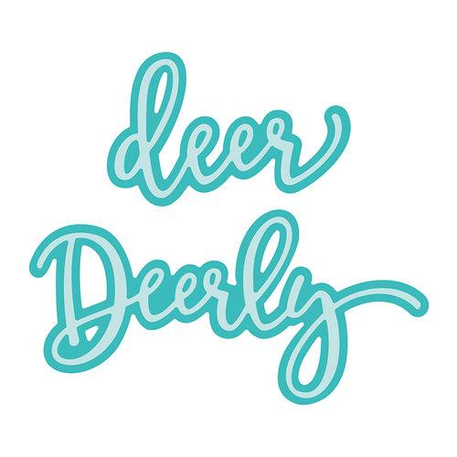 Honey Bee Stamps - Christmas - Honey Cuts - Steel Craft Dies - Deerly Loved