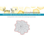 Honey Bee Stamps - Honey Cuts - Steel Craft Dies - Lotus Blossom