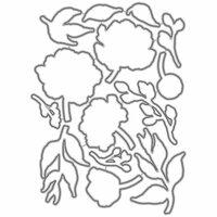 Honey Bee Stamps - Honey Cuts - Steel Craft Dies - Spring Peony