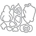 Honey Bee Stamps - Honey Cuts - Steel Craft Dies - Spring Chicks