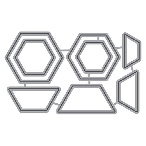 Honey Bee Stamps - Honey Cuts - Steel Craft Dies - Hexagon Patterns