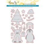 Honey Bee Stamps - Honey Cuts - Steel Craft Dies - More Flakey Friends
