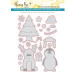 Honey Bee Stamps - Honey Cuts - Steel Craft Dies - More Flakey Friends