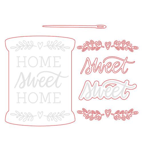 Honey Bee Stamps - Christmas - Honey Cuts - Steel Craft Dies - Home, Sweet Home