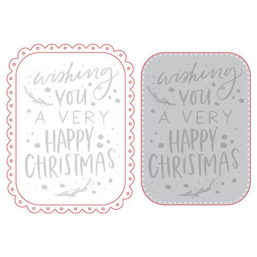 Honey Bee Stamps - Honey Cuts - Steel Craft Dies - Happy Christmas