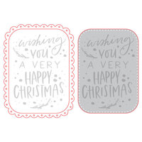 Honey Bee Stamps - Honey Cuts - Steel Craft Dies - Happy Christmas