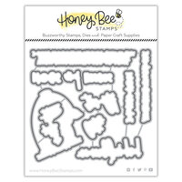 Honey Bee Stamps - Bee Mine Collection - Honey Cuts - Steel Craft Dies - Bad Influence