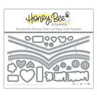 Honey Bee Stamps - Bee Mine Collection - Honey Cuts - Steel Craft Dies - Pocket Full of Love