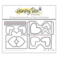 Honey Bee Stamps - Bee Mine Collection - Honey Cuts - Steel Craft Dies - Heartfelt Pocket