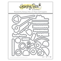 Honey Bee Stamps - Bee Mine Collection - Honey Cuts - Steel Craft Dies - Sweet Treats