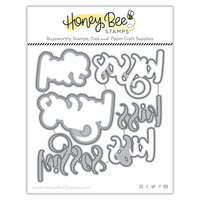 Honey Bee Stamps - Bee Mine Collection - Honey Cuts - Steel Craft Dies - Kisses