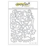 Honey Bee Stamps - Honey Cuts - Steel Craft Dies - Happy BEEday