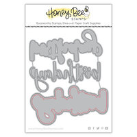 Honey Bee Stamps - Honey Cuts - Steel Craft Dies - Birthday