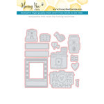 Honey Bee Stamps - Honey Cuts - Steel Craft Dies - Camera Love