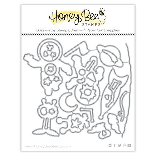 Honey Bee Stamps - Honey Cuts - Steel Craft Dies - Far Out Friends
