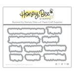 Honey Bee Stamps - Honey Cuts - Steel Craft Dies - Stellar Sentiments