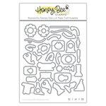 Honey Bee Stamps - Honey Cuts - Steel Craft Dies - Build A Bot