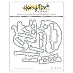 Honey Bee Stamps - Honey Cuts - Steel Craft Dies - Woodland Babies