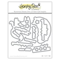Honey Bee Stamps - Honey Cuts - Steel Craft Dies - Woodland Babies