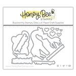 Honey Bee Stamps - Honey Cuts - Steel Craft Dies - Safari Babies