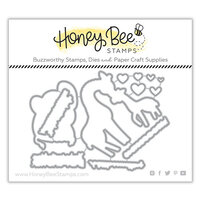 Honey Bee Stamps - Honey Cuts - Steel Craft Dies - Safari Babies