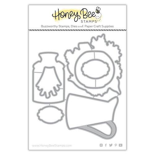 Honey Bee Stamps - Honey Cuts - Steel Craft Dies - Farm Fresh Flowers