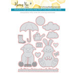Honey Bee Stamps - Honey Cuts - Steel Craft Dies - Spring Honey Buddies