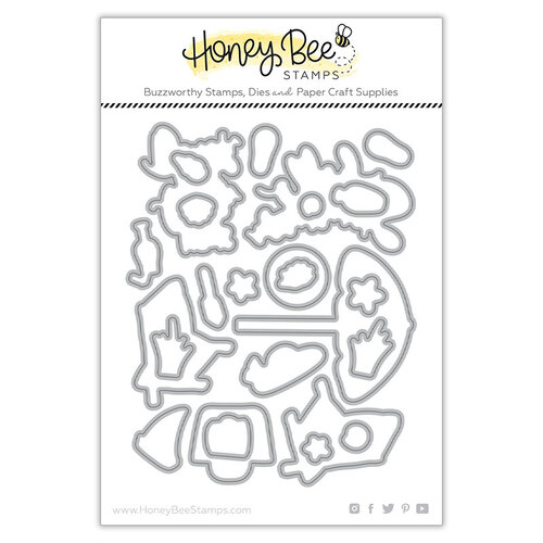 Honey Bee Stamps - Paradise Collection - Dies - Hello Summer