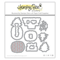 Honey Bee Stamps - Paradise Collection - Dies - Fineapple