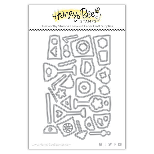 Honey Bee Stamps - Paradise Collection - Dies - Raise a Glass