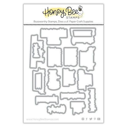 Honey Bee Stamps - Paradise Collection - Dies - Sip Sip Hooray