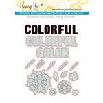 Honey Bee Stamps - Honey Cuts - Steel Craft Dies - Color My World