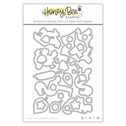Honey Bee Stamps - Paradise Collection - Dies - Birds of Paradise