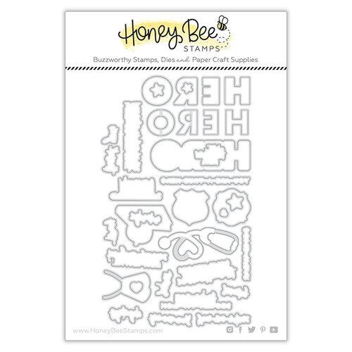 Honey Bee Stamps - Steel Craft Dies - My Hero