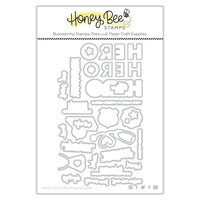 Honey Bee Stamps - Steel Craft Dies - My Hero