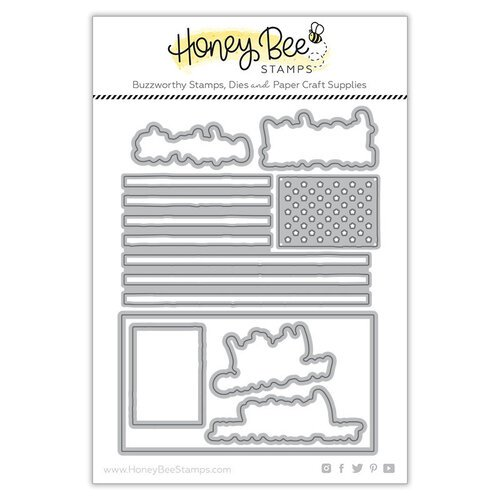 Honey Bee Stamps - Steel Craft Dies - United We Stand