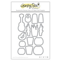 Honey Bee Stamps - Paradise Collection - Dies - Luau