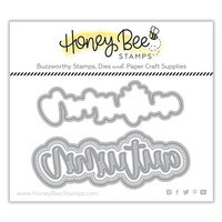 Honey Bee Stamps - Dies - Honey Cuts - Autumn Buzzword
